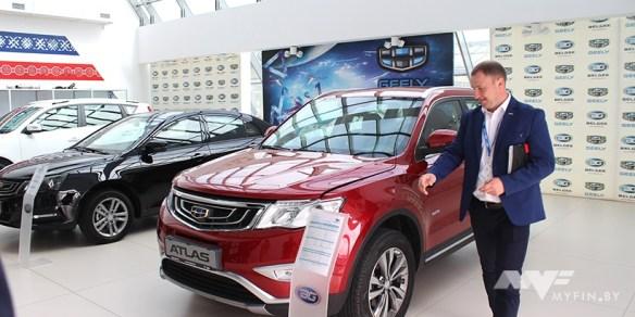 «БЕЛДЖИ»: Geely в 2019 году могут войти в 3-ку лидеров по продажам новых авто