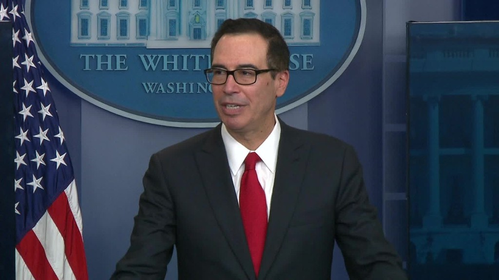 President Trump has 'no intention' of releasing his tax returns, Mnuchin says
