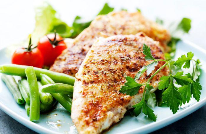 MyFinancialHill Air Fryer Chicken Breast Healthy Low Carb Dinner