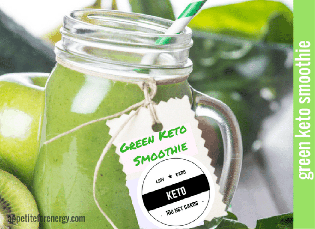 Green-Keto-Avocado-Kale-Cucumber-Ginger-Coconut-Water-Chia-Seeds-MCT-Oil-Stevia-Healthy-Weight-Loss-Smoothie-Recipes