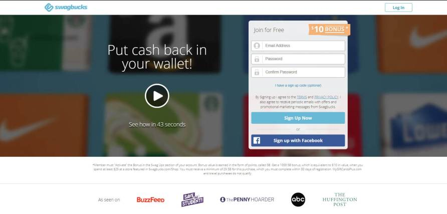 Swagbucks Welcome Bonus Earn Free PayPal Money My Financial Hill