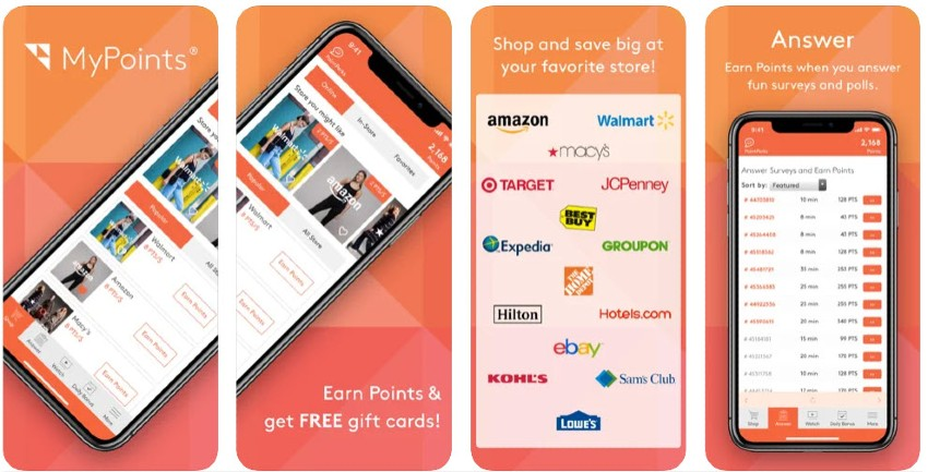 MyPoints Screenshot - How to make money online as a teenager - My Financial Hill