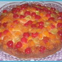 Fruit Cocktail Upside Down Cake