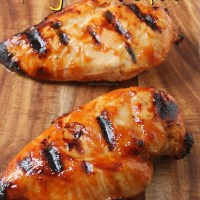 Honey BBQ Grilled Chicken Breasts