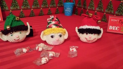 Christmas Elf Gift Bag Crochet Pattern