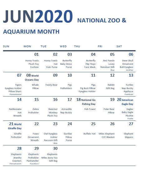 June2020calendar