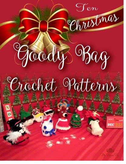 Christmas Goody Bags Crochet Pattern ebook