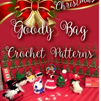 Christmas Goody Bags Crochet Pattern ebook