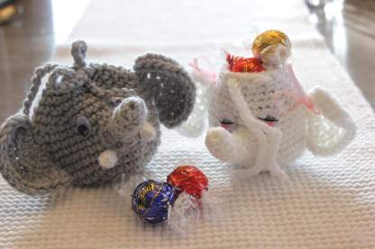 Elephant Gift Bag Crochet Pattern