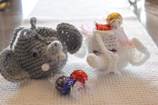 Elephant Gift Bag Crochet Pattern