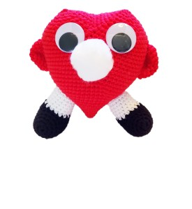 Heart Eyeglass Holder Crochet Pattern