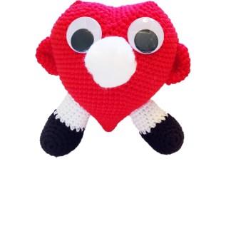 Heart Eyeglass Holder Crochet Pattern