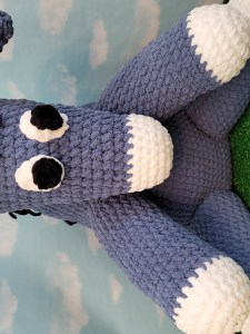 Archie the Donkey Crochet Pattern using Bernat Blanket Yarn