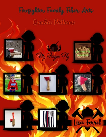 Firefighter Family Fiber Arts Pattern Ebook