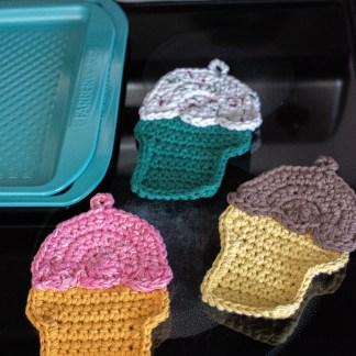 Ice Cream Potholder Crochet Pattern