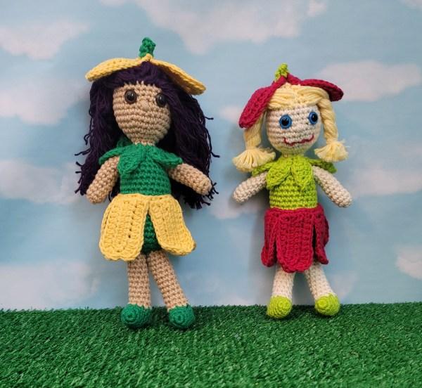 Miss Tulip Amigurumi Crochet Pattern