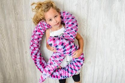 Snake Plush Toy Crochet Pattern