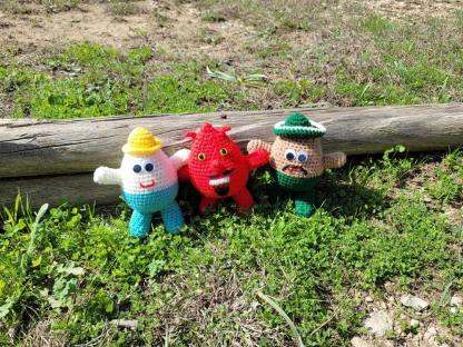 Egg Characters Plush Toy Crochet Pattern