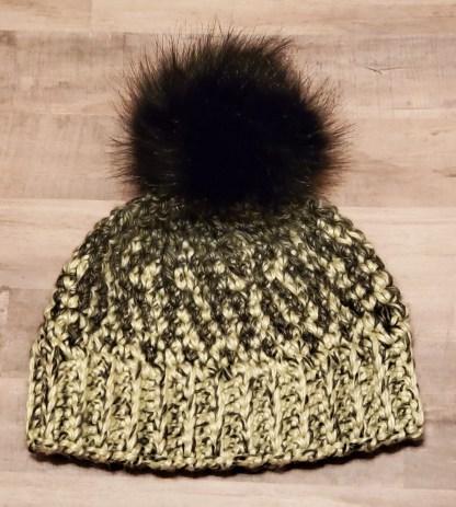 Quail Ski Hat Crochet Pattern
