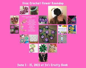 flower crochet round-up
