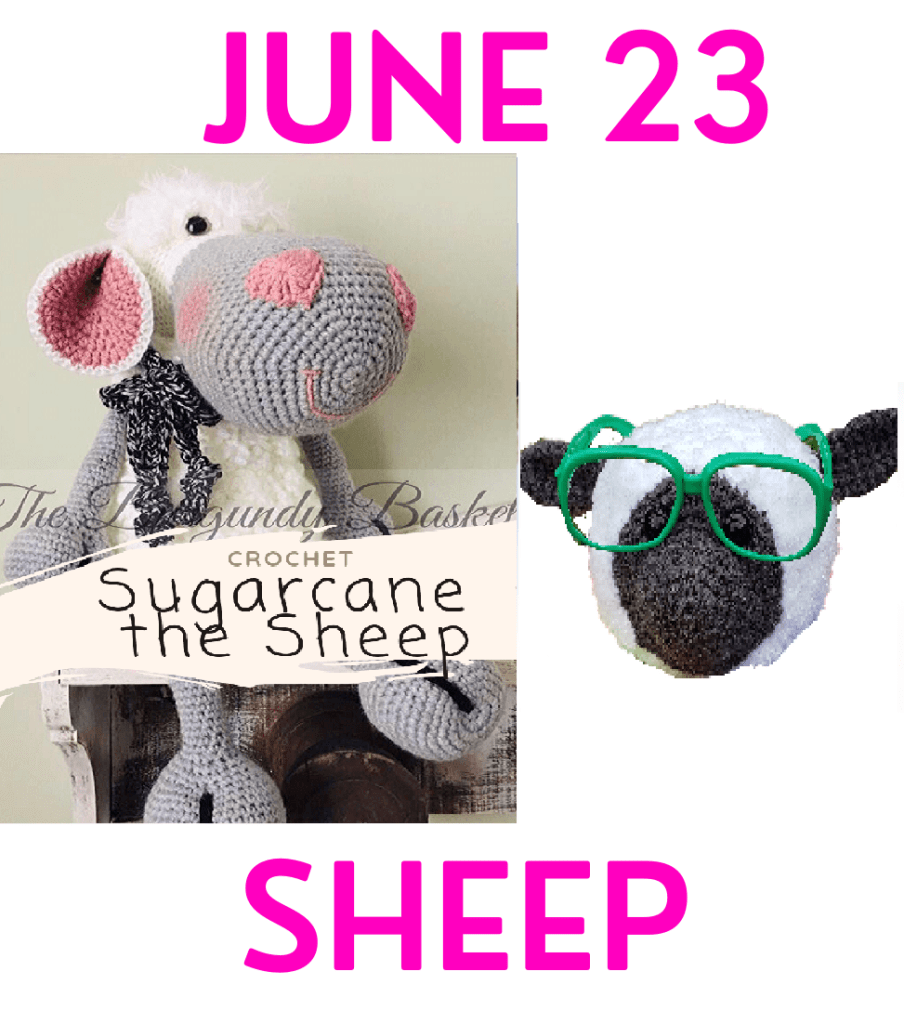 sheep crochet patterns