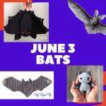 bat crochet patterns