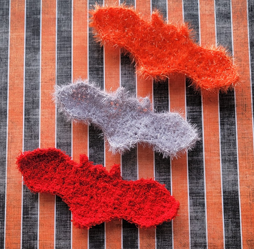 bat scrubby crochet pattern