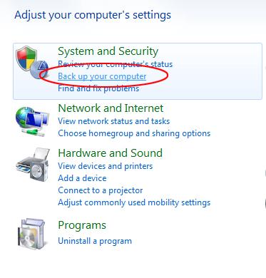 Windows Repair Disc