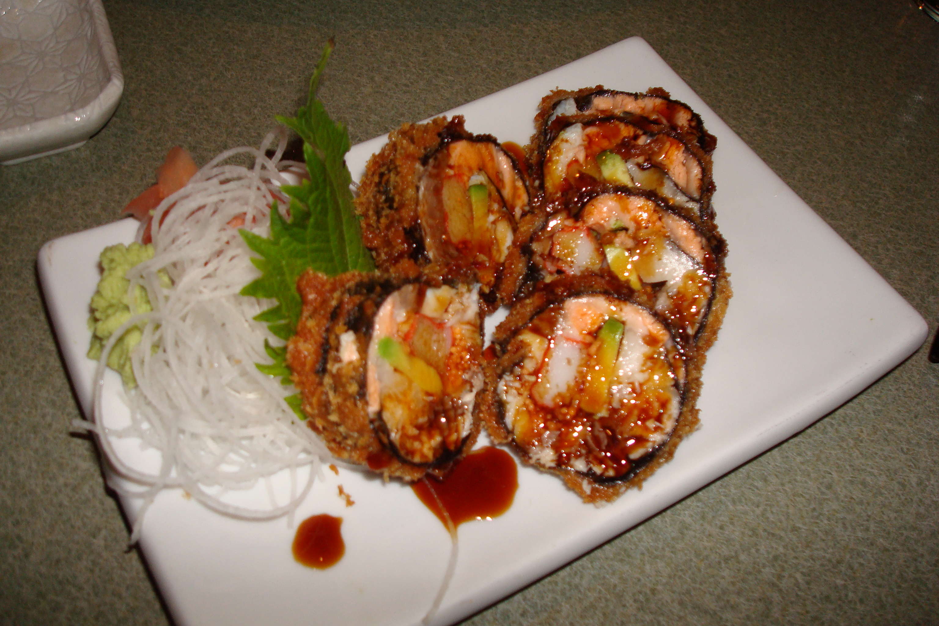 Spice-Rice Sushi Appetizer