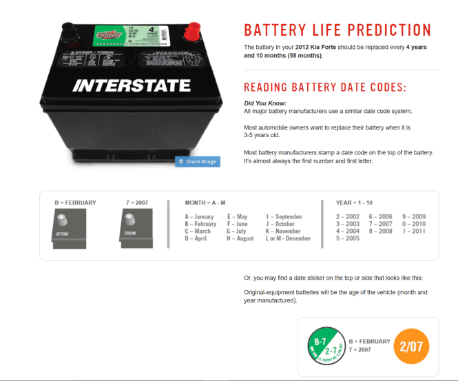battery predictor