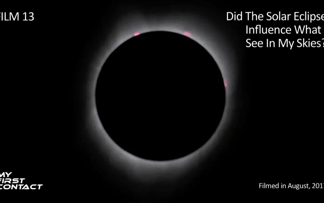 Did The Solar Eclipse Influence What I See In My Skies?