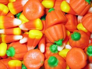Candy Corn Candy Pumpkins