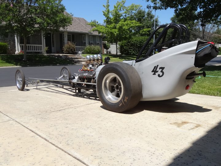 Watch Carl Lembke's Flathead Dragster Run!