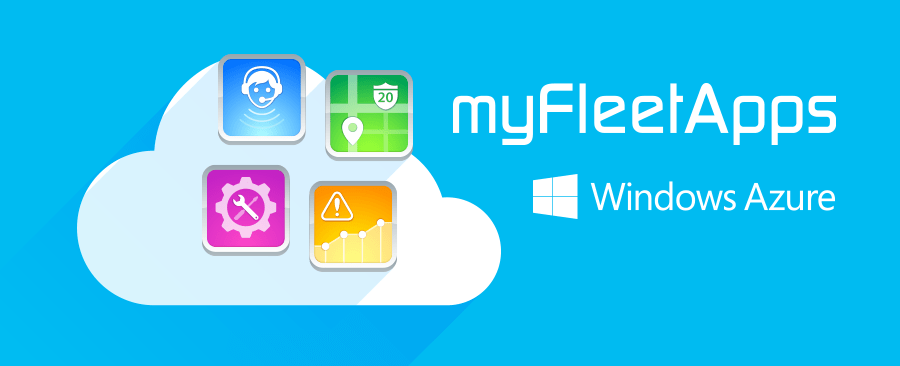 myfleet apps powered by Microsoft Azure