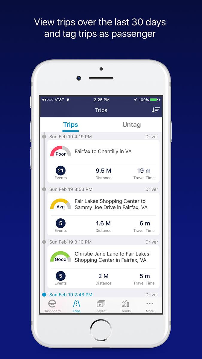 Mentor App Trips