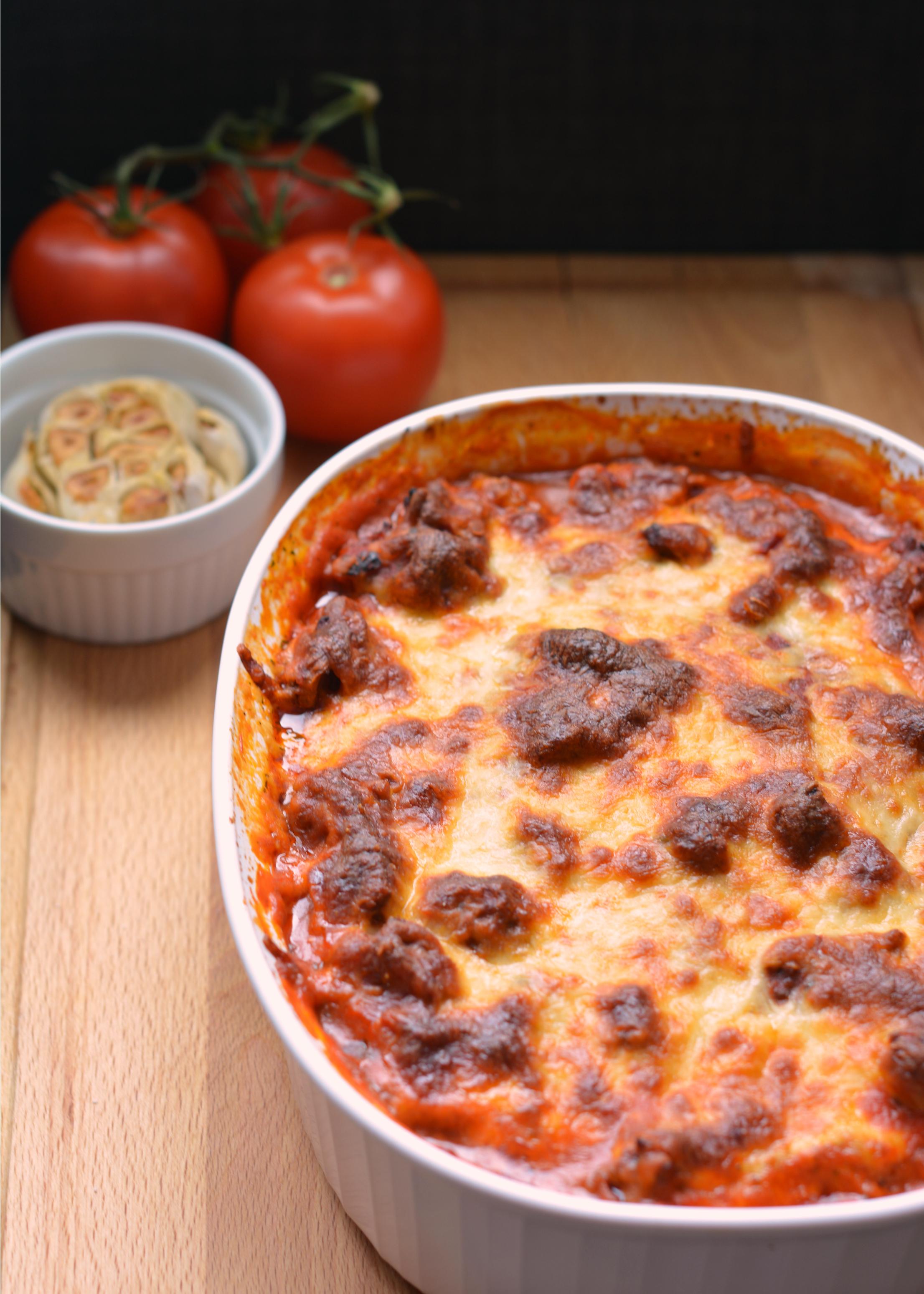 Our Sunday Night Favourite: Roasted Garlic Eggplant Lasagna