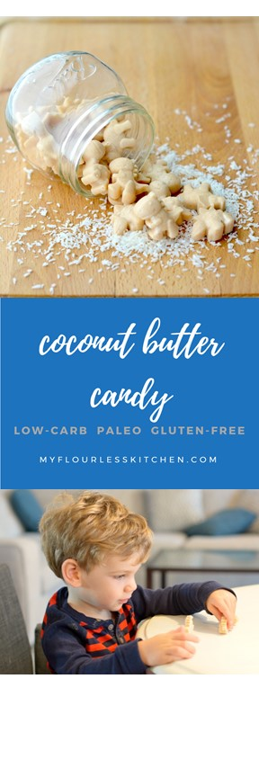coconut butter candy