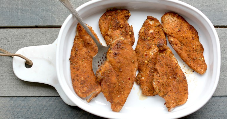 Cajun Chicken: A Super Simple Weeknight Recipe
