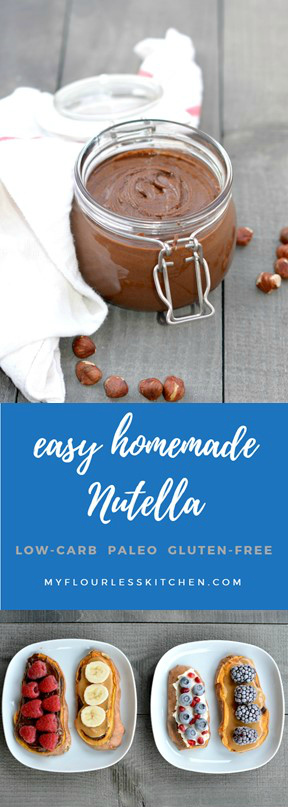 homemade sugar-free Nutella