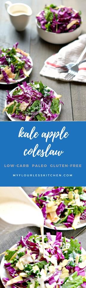 Kale Apple Coleslaw