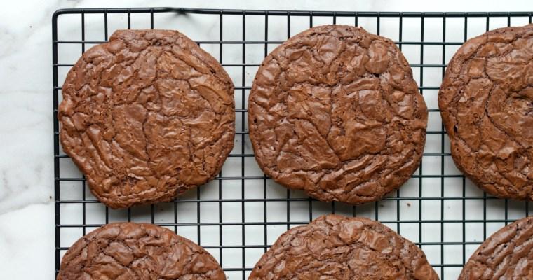 Flourless Double Chocolate Gourmet Cookies