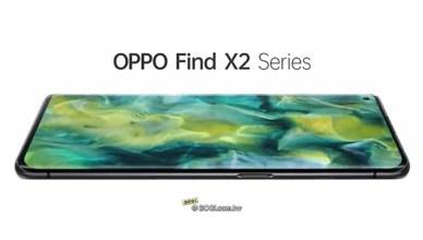 OPPO Find X2機身設計亮相