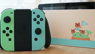 【開箱】集合啦!動物森友會(動物之森) Nintendo Switch 特別版主機