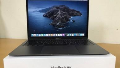 Apple MacBook Air 2020筆電開箱,剪刀式按鍵回歸!