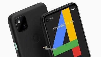Google Pixel 4a台灣9/10上市 5G版與Pixel 5秋季推出