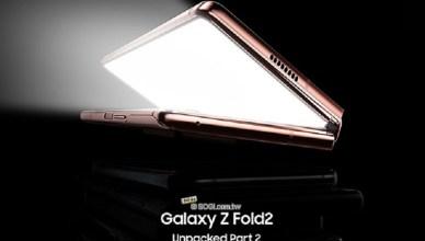 三星宣布9/1發表Galaxy Z Fold2可折疊螢幕手機