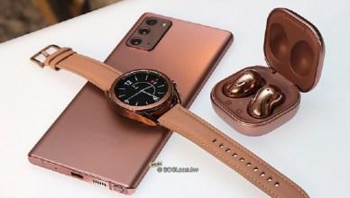 三星Galaxy Watch 3手錶與Buds Live耳機 8/21台灣上市
