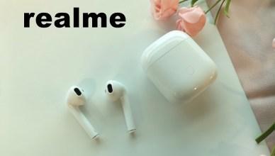 realme Buds Air 真無線藍牙耳機開箱使用心得分享,外型80%相似蘋果 AirPods!
