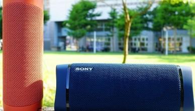 Sony 可攜式藍牙喇叭SRS-XB23與SRS-XB33,支援IP67防水可串連使用的重低音無線藍牙喇叭
