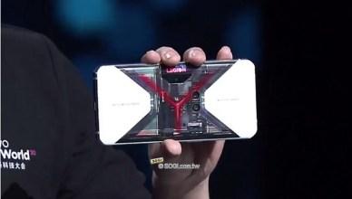 聯想拯救者電競手機Pro至尊透明版亮相 看透內部設計